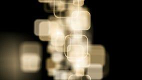 Φωτεινό υπόβαθρο με το βρόχο τετραγώνων φιλμ μικρού μήκους
