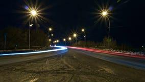 Φωτεινό υπόβαθρο του αυτοκινήτου που βυθίζεται Στοκ εικόνες με δικαίωμα ελεύθερης χρήσης