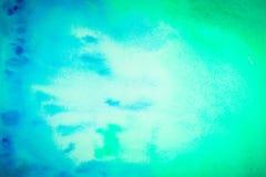 Φωτεινό υπόβαθρο υδατοχρώματος Abstracet από μπλε και κυανός διανυσματική απεικόνιση