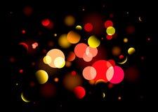φωτεινό φως θαμπάδων Στοκ εικόνα με δικαίωμα ελεύθερης χρήσης