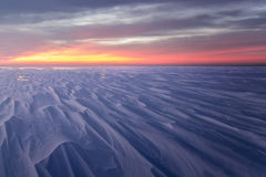 Φωτεινό χειμερινό τοπίο Στοκ Φωτογραφίες