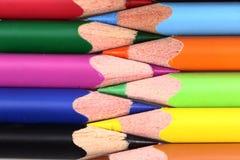 φωτεινό χρωματισμένο μολύβι Στοκ φωτογραφία με δικαίωμα ελεύθερης χρήσης