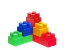 φωτεινό χρώμα οικοδόμησης ομάδων δεδομένων Στοκ φωτογραφία με δικαίωμα ελεύθερης χρήσης