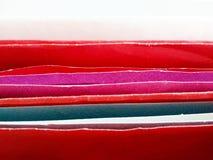 Φωτεινό χρώμα των φακέλων Στοκ Εικόνα