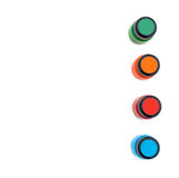 Φωτεινό χρώμα Στοκ εικόνα με δικαίωμα ελεύθερης χρήσης