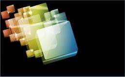 φωτεινό bstract ανασκόπησης διανυσματική απεικόνιση