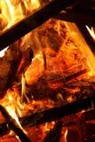 Φωτιά Αγίου Anthony στοκ εικόνα