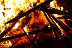 Φωτιά Αγίου Anthony στοκ εικόνες με δικαίωμα ελεύθερης χρήσης