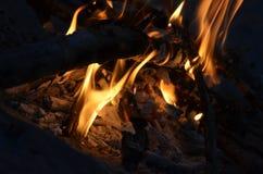 Φωτιά στενά επάνω 3 Στοκ εικόνα με δικαίωμα ελεύθερης χρήσης