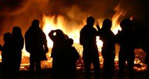 φωτιά 3 Στοκ Φωτογραφίες