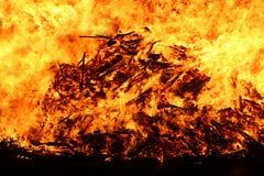 φωτιά Στοκ φωτογραφίες με δικαίωμα ελεύθερης χρήσης