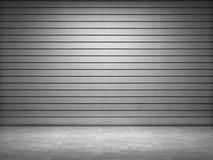 Φωτισμένος grunge μεταλλικός κύλινδρος ελεύθερη απεικόνιση δικαιώματος