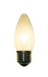 φωτισμένος lightbulb Στοκ φωτογραφία με δικαίωμα ελεύθερης χρήσης
