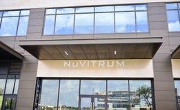 Φωτισμένο Nuvitrum γυαλί, Fort Worth, Τέξας στοκ φωτογραφίες με δικαίωμα ελεύθερης χρήσης