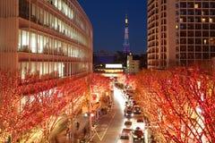 Φωτισμοί του Τόκιο στοκ φωτογραφία με δικαίωμα ελεύθερης χρήσης