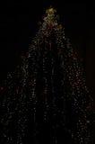 Φωτισμοί Χριστουγέννων στοκ φωτογραφία με δικαίωμα ελεύθερης χρήσης
