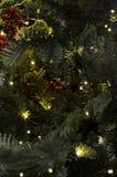 Φωτισμοί Χριστουγέννων στοκ εικόνα