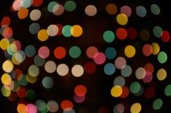 Φωτισμοί Χριστουγέννων στοκ φωτογραφίες