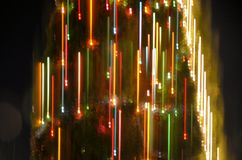 Φωτισμοί Χριστουγέννων στοκ εικόνα με δικαίωμα ελεύθερης χρήσης