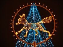 φωτισμός εορτασμού στοκ εικόνες με δικαίωμα ελεύθερης χρήσης