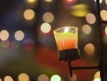 Φωτισμός κεριών Στοκ εικόνες με δικαίωμα ελεύθερης χρήσης