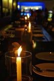 Φωτισμός κεριών Στοκ Φωτογραφία
