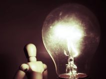 Φωτισμός κουκλών ιδέας Στοκ Εικόνες
