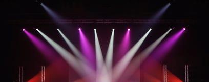 φωτισμός συναυλίας στοκ φωτογραφίες με δικαίωμα ελεύθερης χρήσης