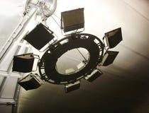 φωτισμός σχεδίου αστικό&sigm Στοκ φωτογραφία με δικαίωμα ελεύθερης χρήσης