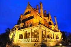 Φωτισμός του Castle στοκ εικόνα με δικαίωμα ελεύθερης χρήσης