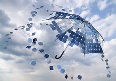 φωτοβολταϊκή ηλιακή ομπρέ& απεικόνιση αποθεμάτων
