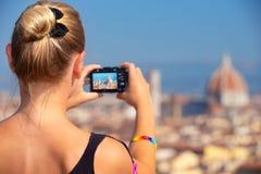 Φωτογράφιση της όμορφης άποψης Στοκ Εικόνες