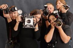 φωτογράφοι Στοκ εικόνα με δικαίωμα ελεύθερης χρήσης