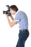 φωτογράφος ατόμων Στοκ εικόνες με δικαίωμα ελεύθερης χρήσης