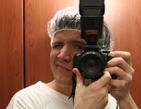 φωτογράφος γιατρών Στοκ φωτογραφίες με δικαίωμα ελεύθερης χρήσης