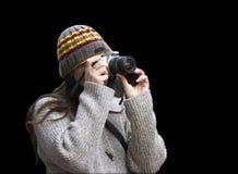 φωτογράφος δεσποινίδα&sigmaf Στοκ φωτογραφία με δικαίωμα ελεύθερης χρήσης