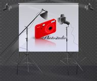Φωτογράφος επαγγέλματος ελεύθερη απεικόνιση δικαιώματος