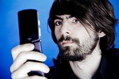 φωτογράφος κινητών τηλεφώνων Στοκ Φωτογραφία