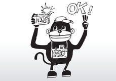 φωτογράφος κινούμενων σχ ελεύθερη απεικόνιση δικαιώματος
