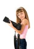 φωτογράφος κοριτσιών Στοκ Εικόνα