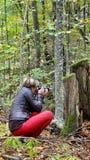 Φωτογράφος κοριτσιών Στοκ φωτογραφίες με δικαίωμα ελεύθερης χρήσης