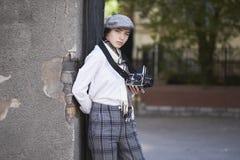 Φωτογράφος νέων κοριτσιών στοκ φωτογραφία με δικαίωμα ελεύθερης χρήσης