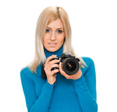 Φωτογράφος ομορφιάς Στοκ φωτογραφία με δικαίωμα ελεύθερης χρήσης