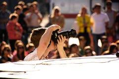 Φωτογράφος που περιμένει προς το παρόν Στοκ φωτογραφίες με δικαίωμα ελεύθερης χρήσης