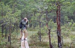 Φωτογράφος σε Kakerdaja Στοκ εικόνα με δικαίωμα ελεύθερης χρήσης