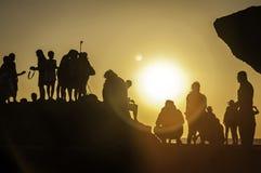 Φωτογράφος στη δράση Στοκ εικόνες με δικαίωμα ελεύθερης χρήσης