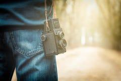 Φωτογράφος στο δρόμο Στοκ φωτογραφία με δικαίωμα ελεύθερης χρήσης