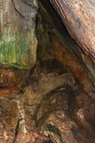 Φωτογράφος της περίπτωσης μέσω της σπηλιάς Ialomoicioara 4 Στοκ Φωτογραφίες