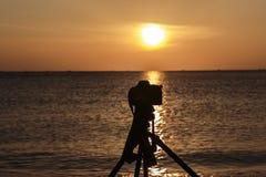 Φωτογράφος τοπίων Στοκ εικόνα με δικαίωμα ελεύθερης χρήσης
