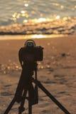 Φωτογράφος τοπίων Στοκ εικόνες με δικαίωμα ελεύθερης χρήσης